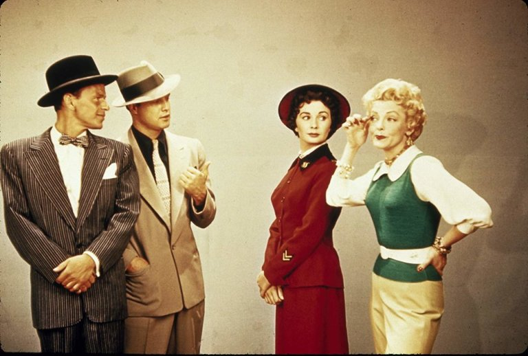 Films in London today: GUYS & DOLLS, part of A HISTORY OF THE AMERICAN MOVIE MUSICAL at Deptford Cinema (11 NOV 19:00).