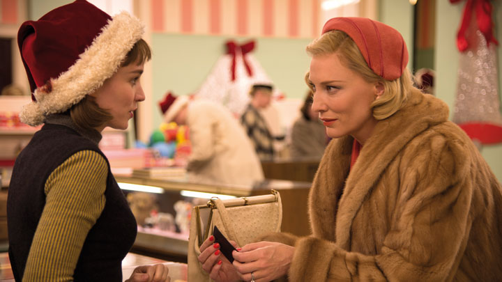BFI FLARE 2020: CAROL, discussed at Lesbian Cinema: From Subtext to Visibility (22 MAR).
