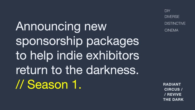 REVIVE THE DARK: New sponsorship opportunities for DIY exhibitors in Greater London