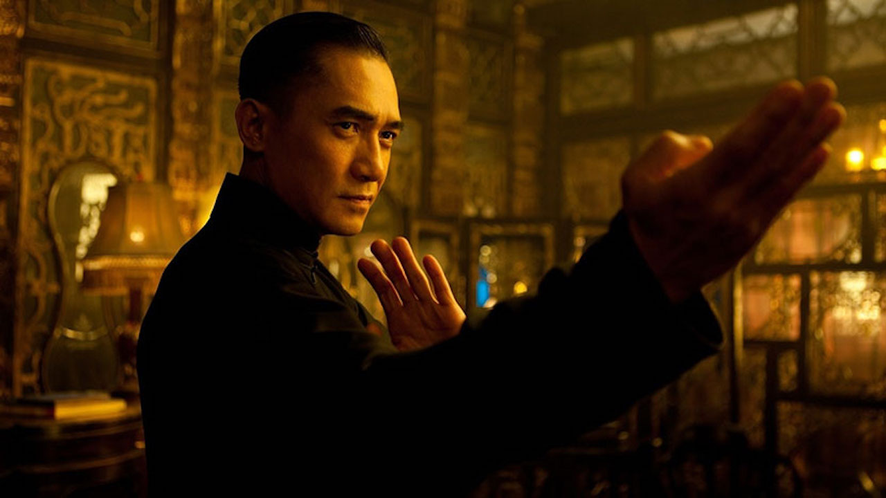 This is a film still from THE GRANDMASTER, screening at BFI Southbank today (26 July 2021).