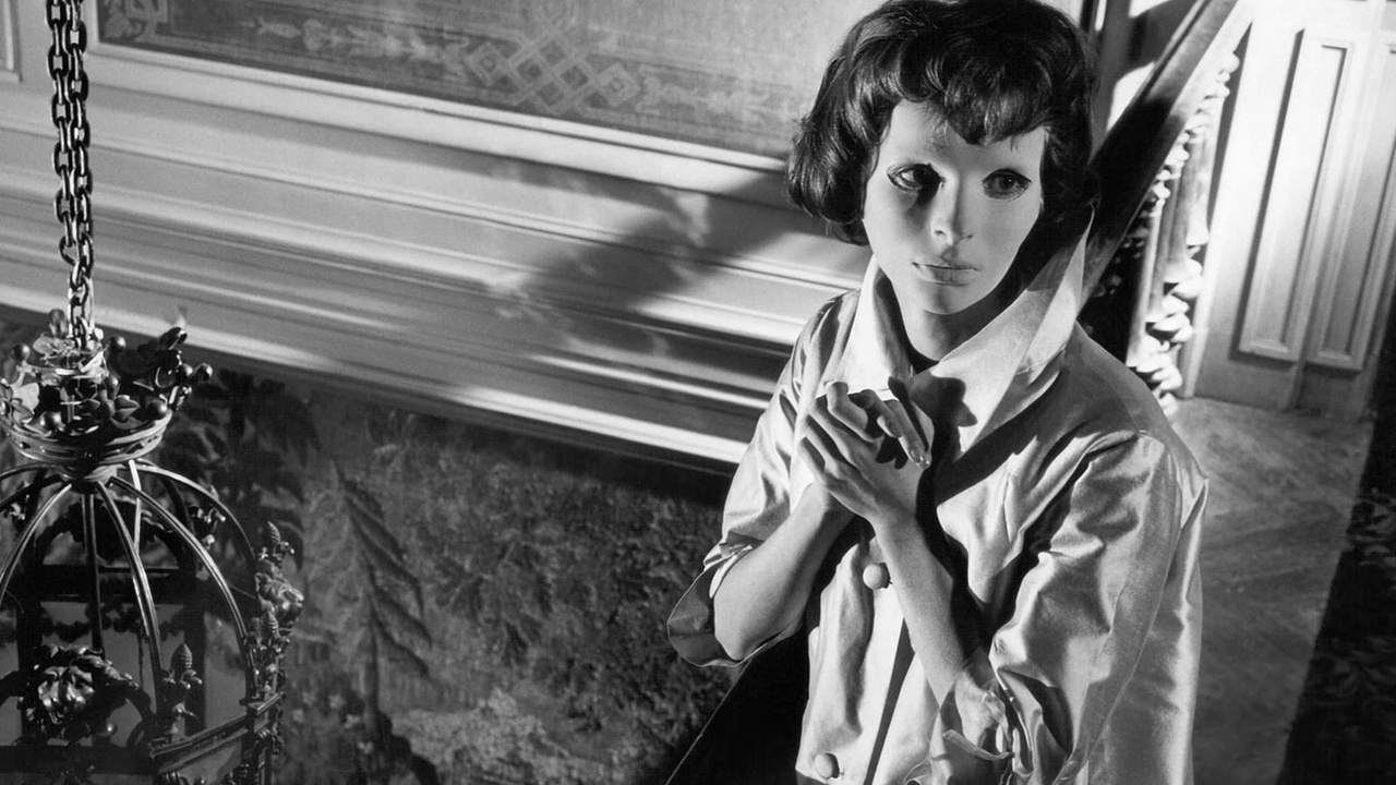 This is a film still from EYES WITHOUT A FACE 35mm aka Les Yeux sans visage d. Georges Franju, 1960, showing at The Prince Charles Cinema (07 OCT 2021).