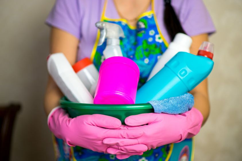 supplies for deep cleaning