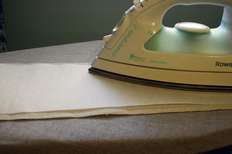 Interfacing Fabric Tote Bag Straps | Radiant Home Studio