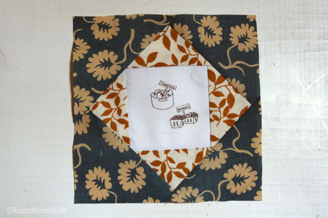 Economy Quilt Block Farm Truck Fabric | Radiant Home Studio