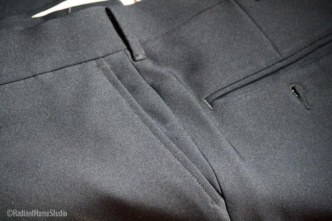 Vintage Trouser Details Pockets | Radiant Home Studio