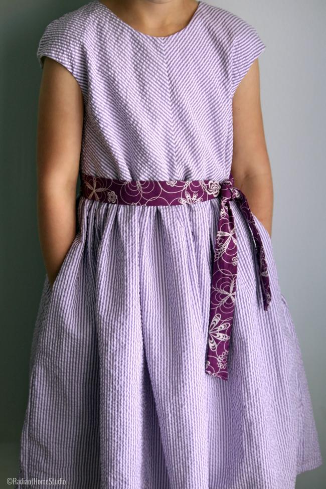 Caroline Party Dress Front | Radiant Home Studio