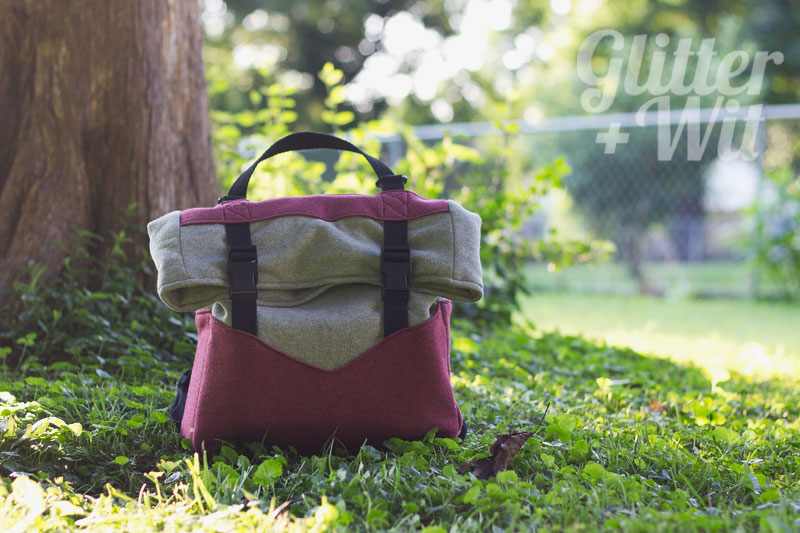 Retro Rucksack by Glitter +Wit | Radiant Home Studio