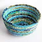Coiled Fabric Scrap Bowl | Radiant Home Studio