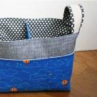 Divided Basket   Radiant Home Studio