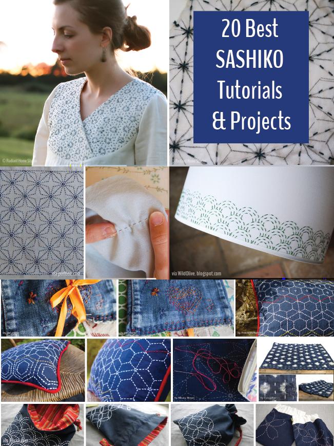 Sashiko Embroidery Tutorials and Projects   Radiant Home Studio