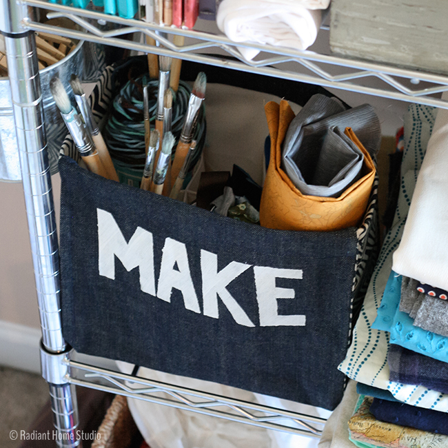 Make a Craft Organizer | Radiant Home Studio