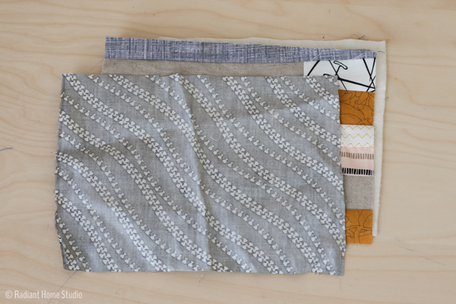 make a sewing needle book