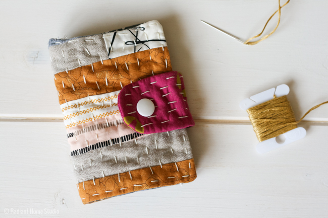 Kantha Needle Book Tutorial | Radiant Home Studio