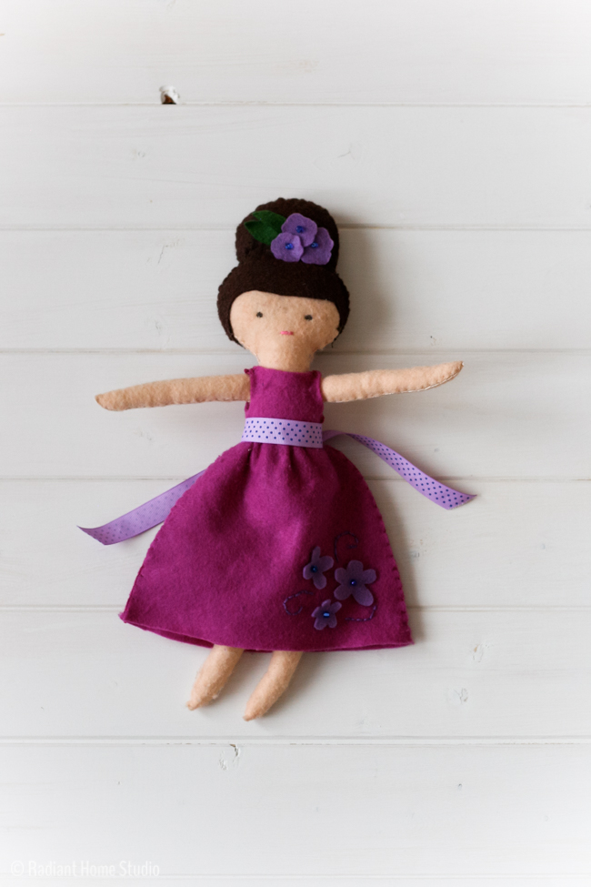 Darling Dollies - Felt Sew Good | Radiant Home Studio