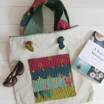 Kantha Stitched Pocket {Tote Bag Upgrade} | Radiant Home Studio