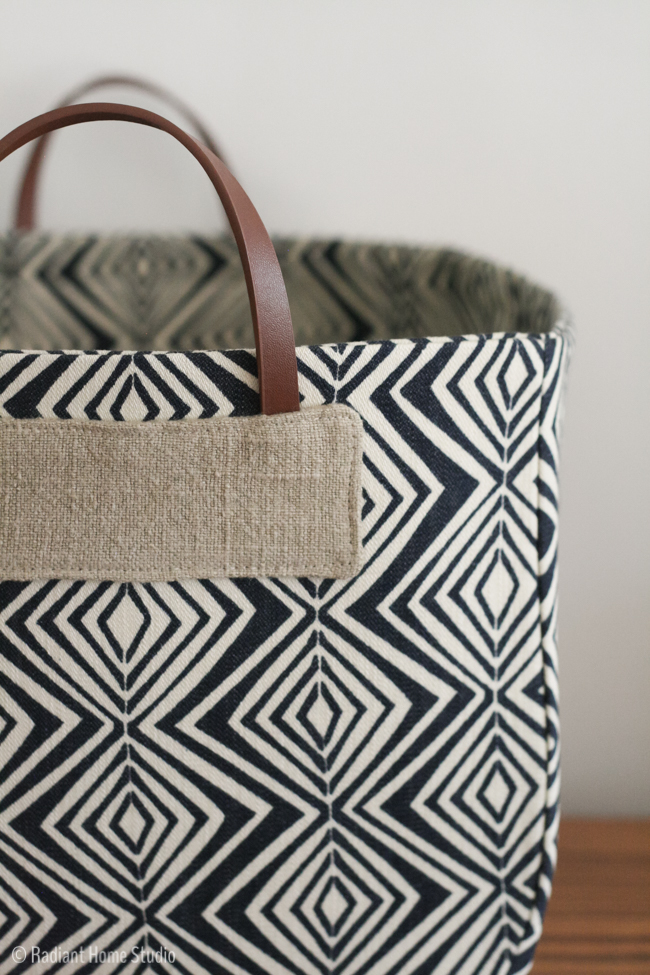Basket from Handmade Style by Noodlehead | Radiant Home Studio