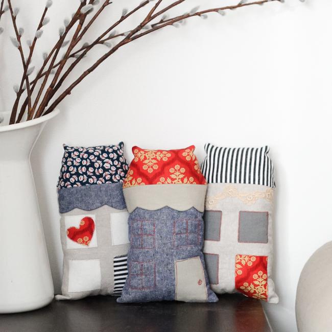Mini Highland House Pattern   Radiant Home Studio