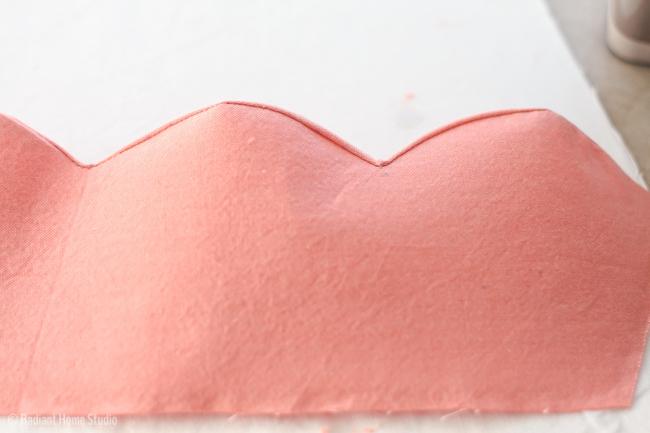 How to Sew Perfect Scallops | Radiant Home Studio