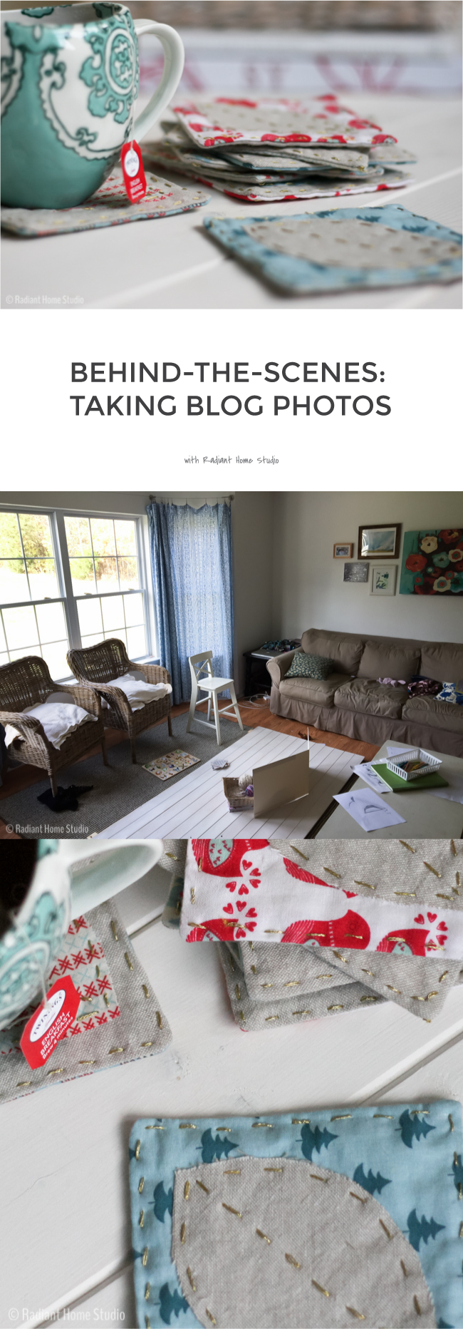 Behind-the-Scenes: What My House Really Looks Like When I Take Blog Photos   Radiant Home Studio