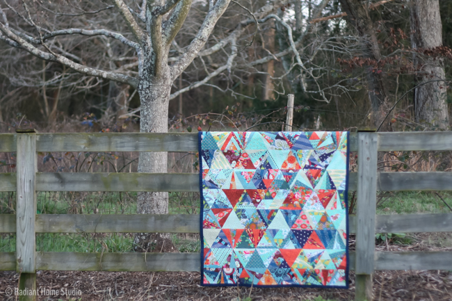 Tessellation Quilt Finish | Radiant Home Studio