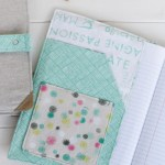 Chalk and Paint Notebook Cover   Radiant Home Studio