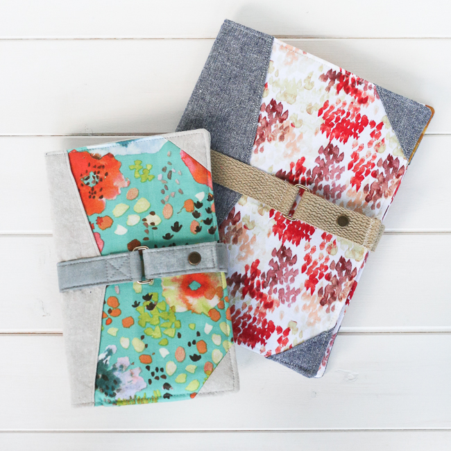 North Pond Notebook Cover Pattern | Radiant Home Studio