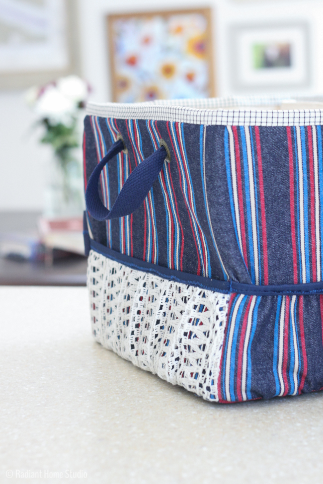 Mom's MInivan Organizer Sew-along | Pockets & Elastic | On the Go Bags | Radiant Home Studio