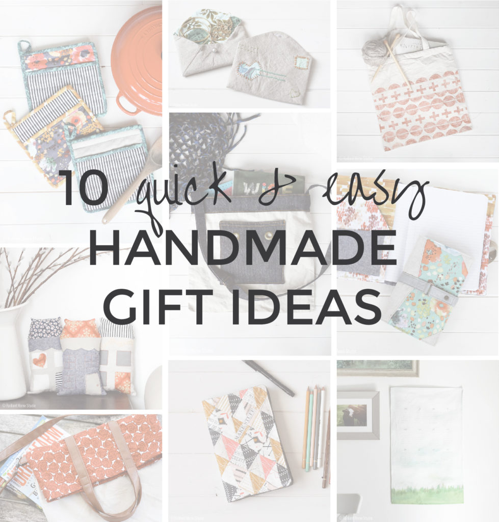 10 Quick & Easy Handmade Gift Ideas | Radiant Home Studio