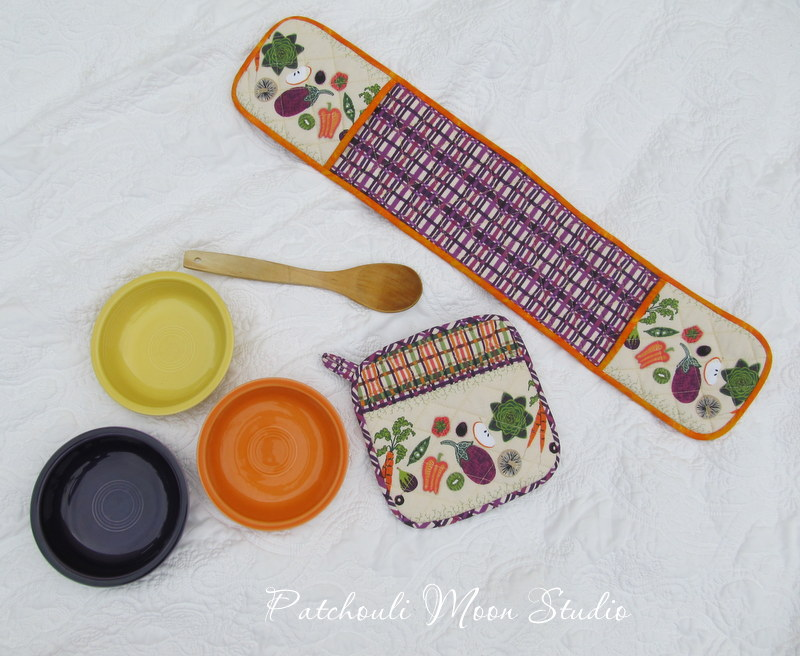 Flower City Potholder Set | Kitchen Gifts | Radiant Home Studio
