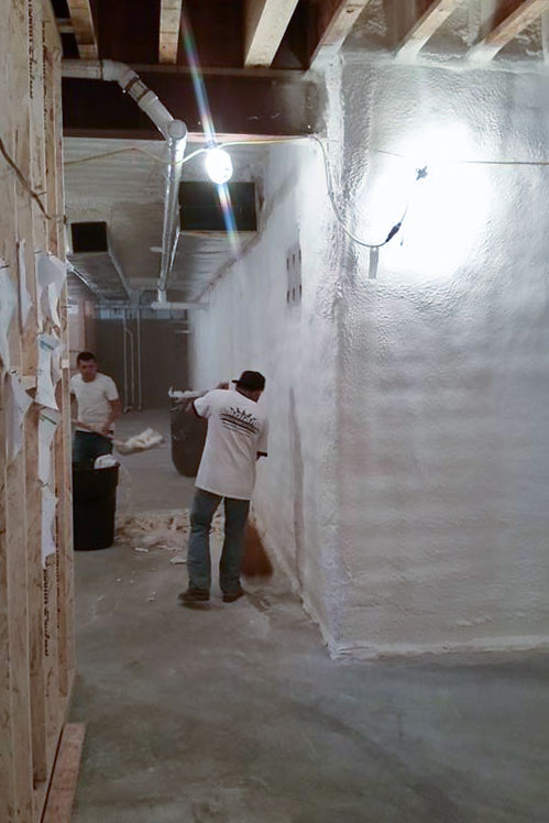 basement spray foam insulation - 4