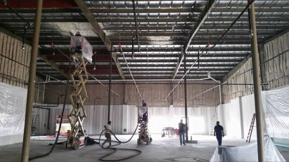 corrugated roof spray foam insulation - 3