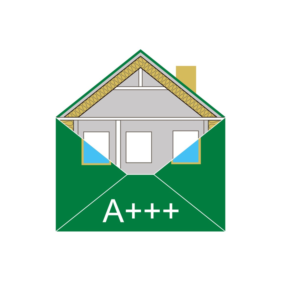 thermal envelope of a home