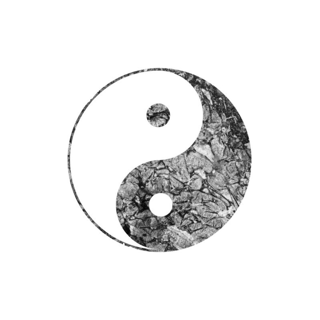 Yin and yang image that shows the transition from winter to spring. Teaches how to stay healthy in the spring.