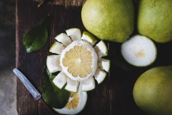 Pomelo nourishes the lungs which helps beat anxiety