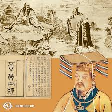 Huang Di One of the most important Chinese medicine doctors to create a written record of methods and case studies. The idea is that Chinese medicine is rooted in thousands of years of practice.