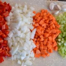 Loads of Veggies...