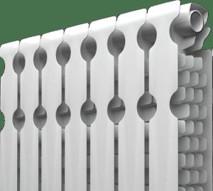 Алюминиевый радиатор с антикоррозийным покрытием