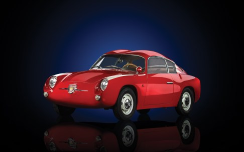 1958 Fiat-Abarth 750 GT 'Double Bubble' Coupé by Zagato - 1