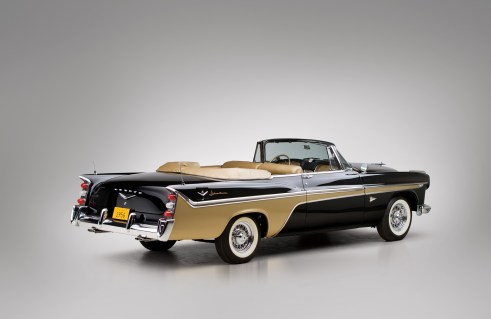 1956 DeSoto Fireflite Adventurer Convertible Coupe Design Study - 1