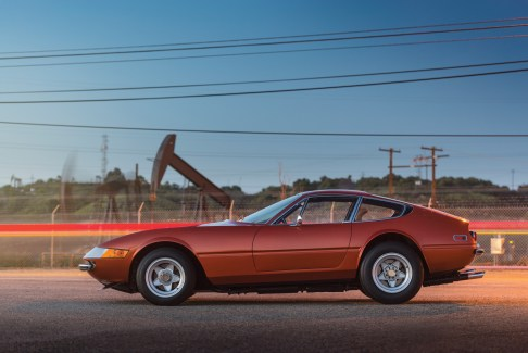 @1971 Ferrari 365 GTB-4 Daytona Harrah Hot Rod-14169 - 22