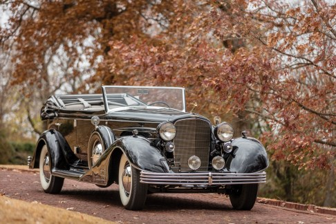 @1933 Cadillac V-16 All-Weather Phaeton by Fleetwood - 1
