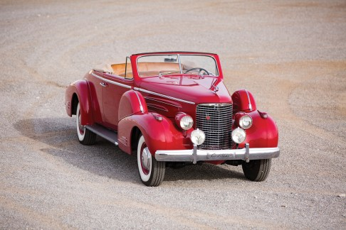@1938 Cadillac V-16 Convertible Coupe by Fleetwood-2 - 7