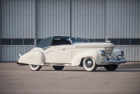 @1938 Graham 97 Supercharged Cabriolet Saoutchik - 30