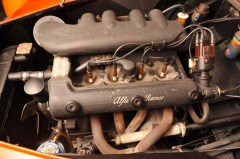 1958 ALFA ROMEO 1900 GHIA AIGLE Boat Car 11