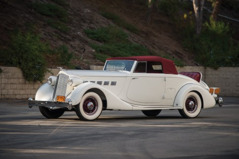 @1936 Packard Super Eight Coupe Roadster - 1