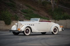 @1936 Packard Super Eight Coupe Roadster - 2