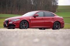 @Alfa Romeo Giulia QV Test - 2