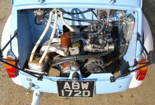 1966 FIAT-ABARTH 1000 TC CORSA SALOON 4