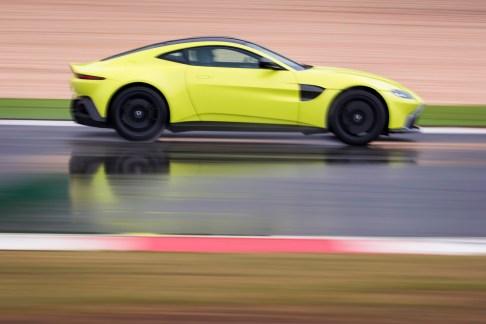 Aston Martin Vantage. Portugal. February / March 2018 Photo: Drew Gibson