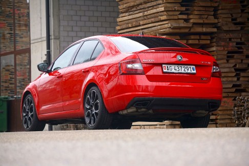 @Test Skoda Octavia RS 245 - 3